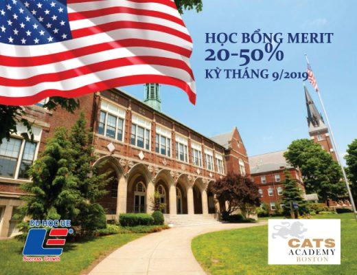 CATS Academy Boston là trường Trung Học Phổ Thông nội trú và uy tín nhất tại Hoa Kỳ. Vớihệ thống giáo dụcuy tín, bậc nhất thế giới