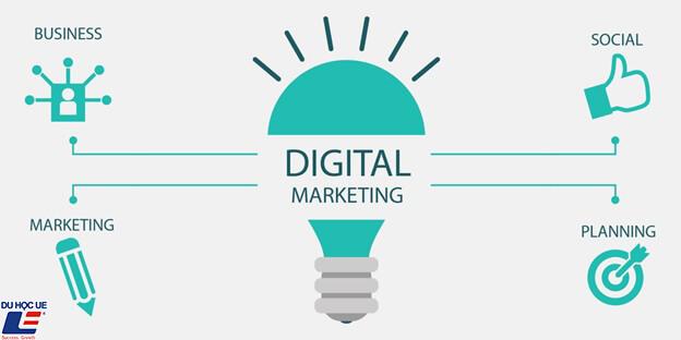 Du học ngành Digital Marketing tại Canada