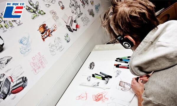 học thiết kế tại úc