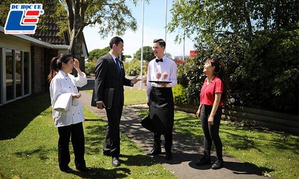 học quản trị nhà hàng tại New Zealand
