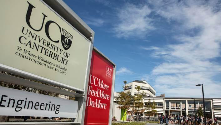 Trường Đại học Canterbury - Top 6 trường đại học ở New Zealand