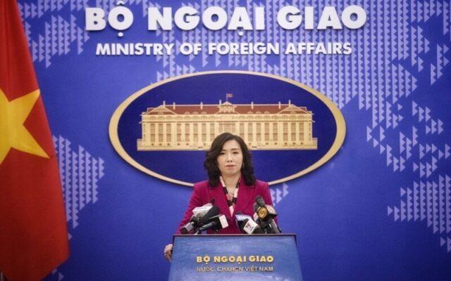 người phát ngôn bộ ngoại giao trả lời câu hỏi đề nghị cung cấp thông tin về kế hoạch các chuyến bay cứu trợ đưa công dân về nước