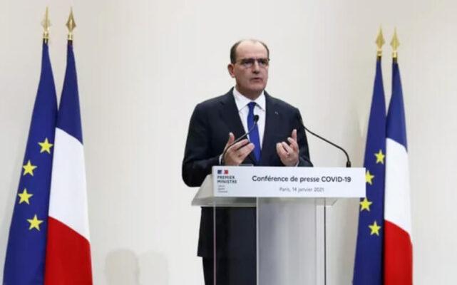 thủ tướng pháp thông báo việc gia tăng thời gian giới nghiêm ở Pháp từ 18 giờ từ ngày 16-1