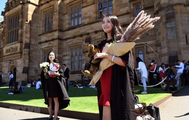 Số lượng du học sinh Việt tại Australia trong năm 2020 thuộc top 4